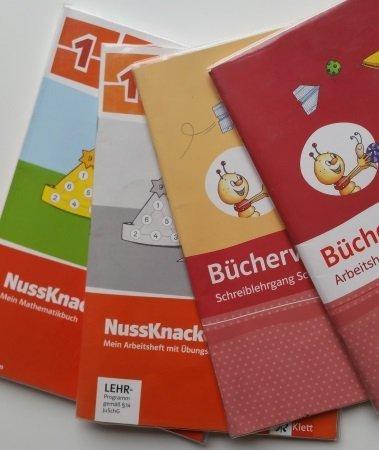 Schulbücher erste Klasse