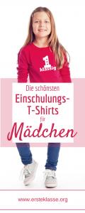 T-Shirt zur Einschulung Mädchen