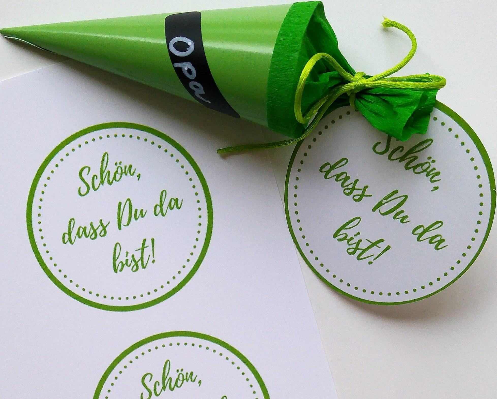 Geschenkanhänger zum Ausdrucken sind online!