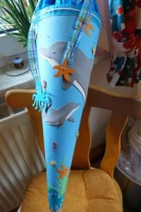 Delfin-Schultüte