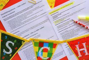 Read more about the article Einschulung planen-mit diesem Plan kommt keine Panik auf!