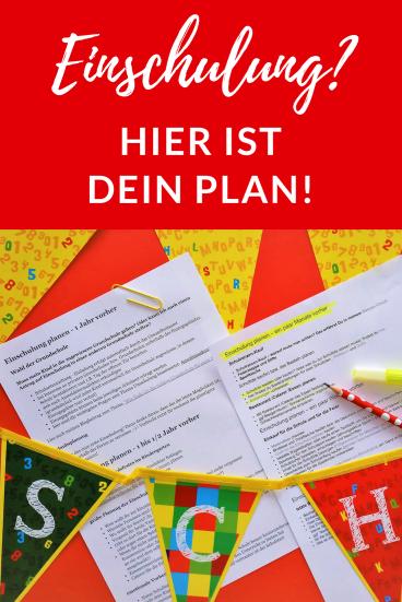 aa0451630481c Einschulung planen-mit diesem Plan kommt keine Panik auf! - Erste Klasse