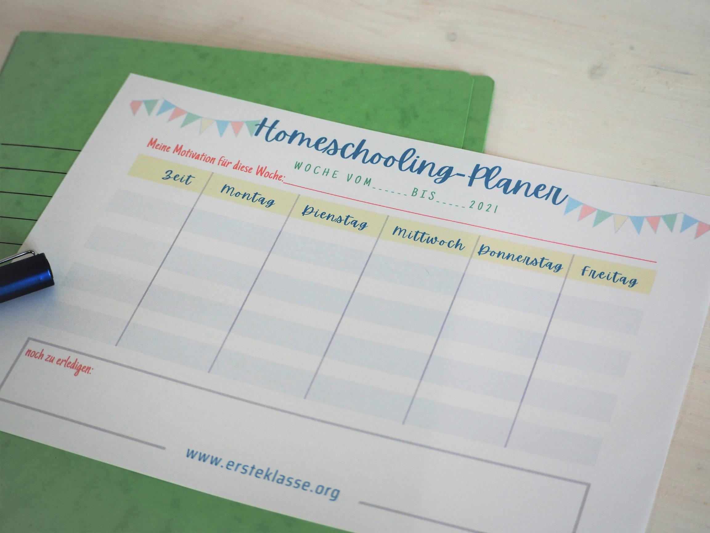 Homeschooling-Planer