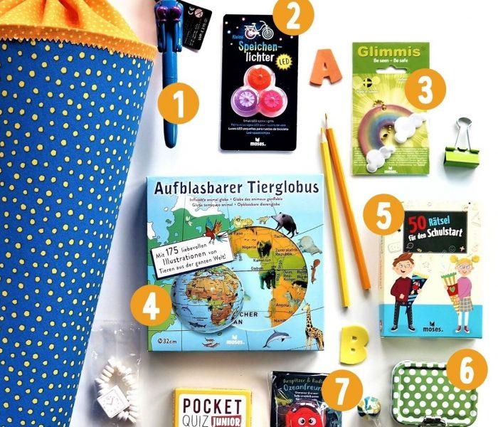 Schultüten-Geschenke – praktisch und so schön!