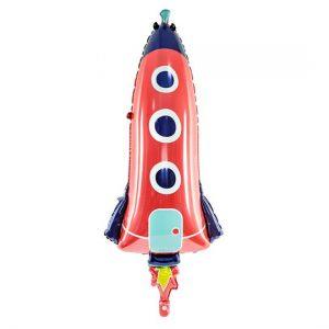 Folienballon XXL Rakete